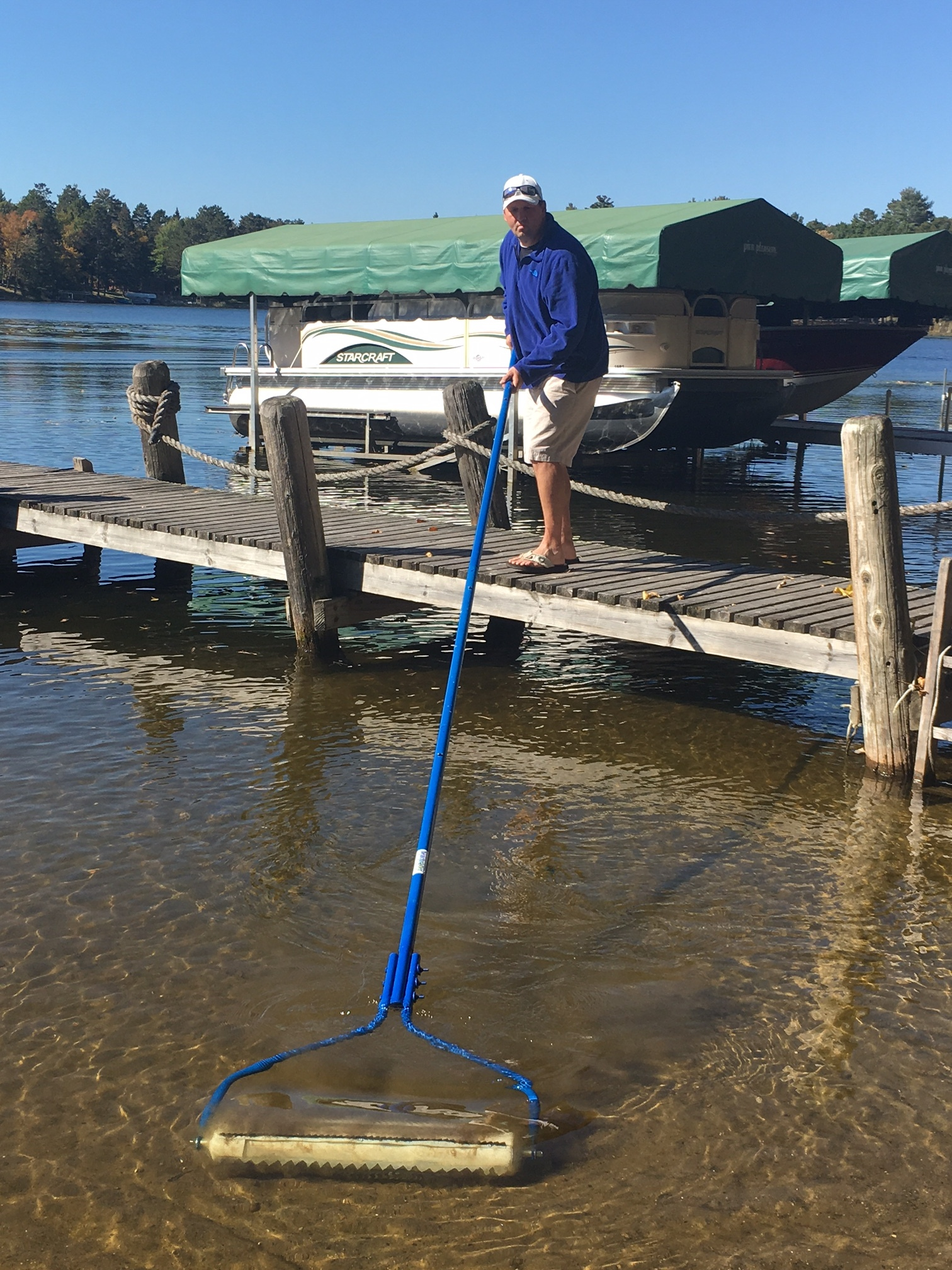 Beach Roller Lake Weed Remover