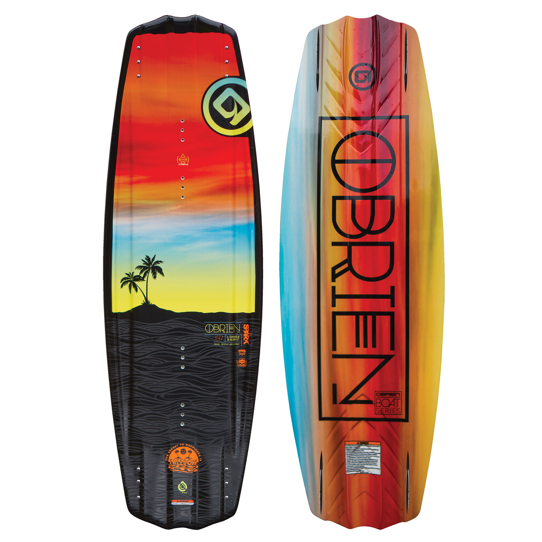 O'Brien Spark Wakeboard W/Spark Bindings
